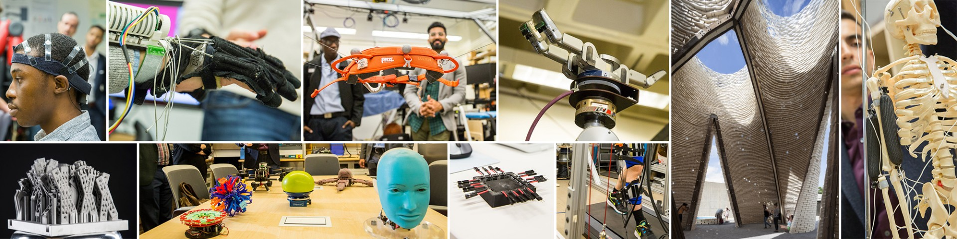collage of robotics research